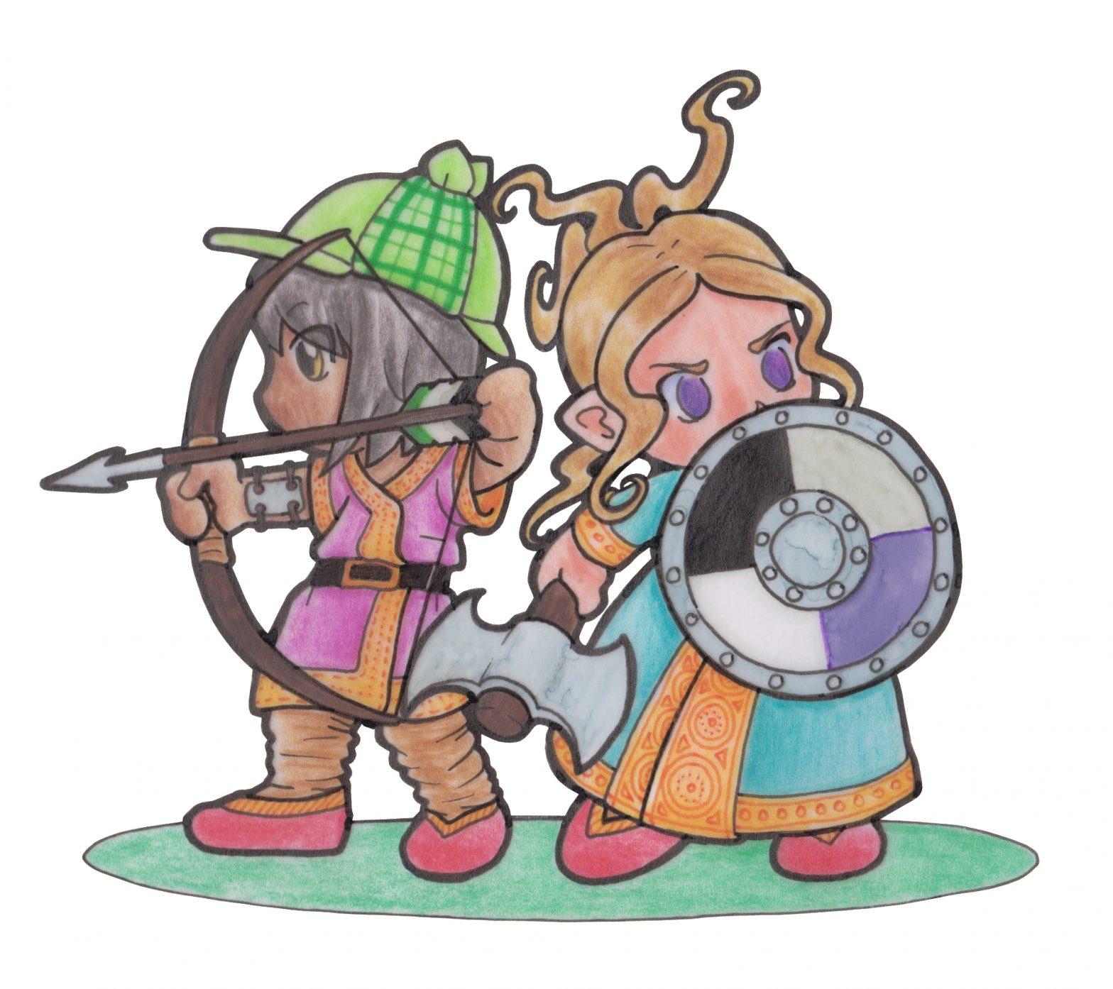 Acey und Aron auf Abenteuersuche